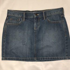 Old navy women's denim skirt